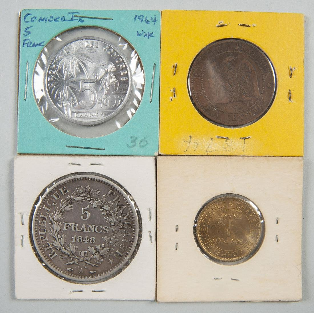 46 Foreign Coins incl Silver - 5