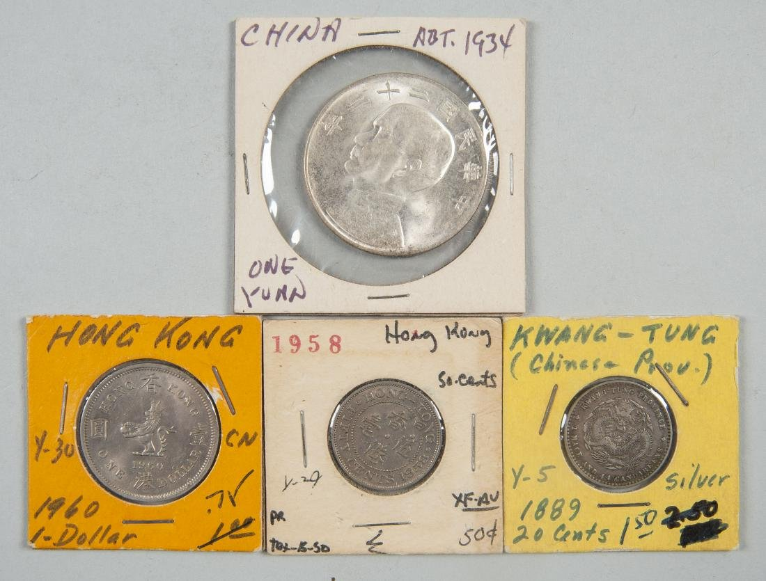 46 Foreign Coins incl Silver - 8
