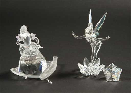 7760f5087176 2 Swarovski Disney Figurines