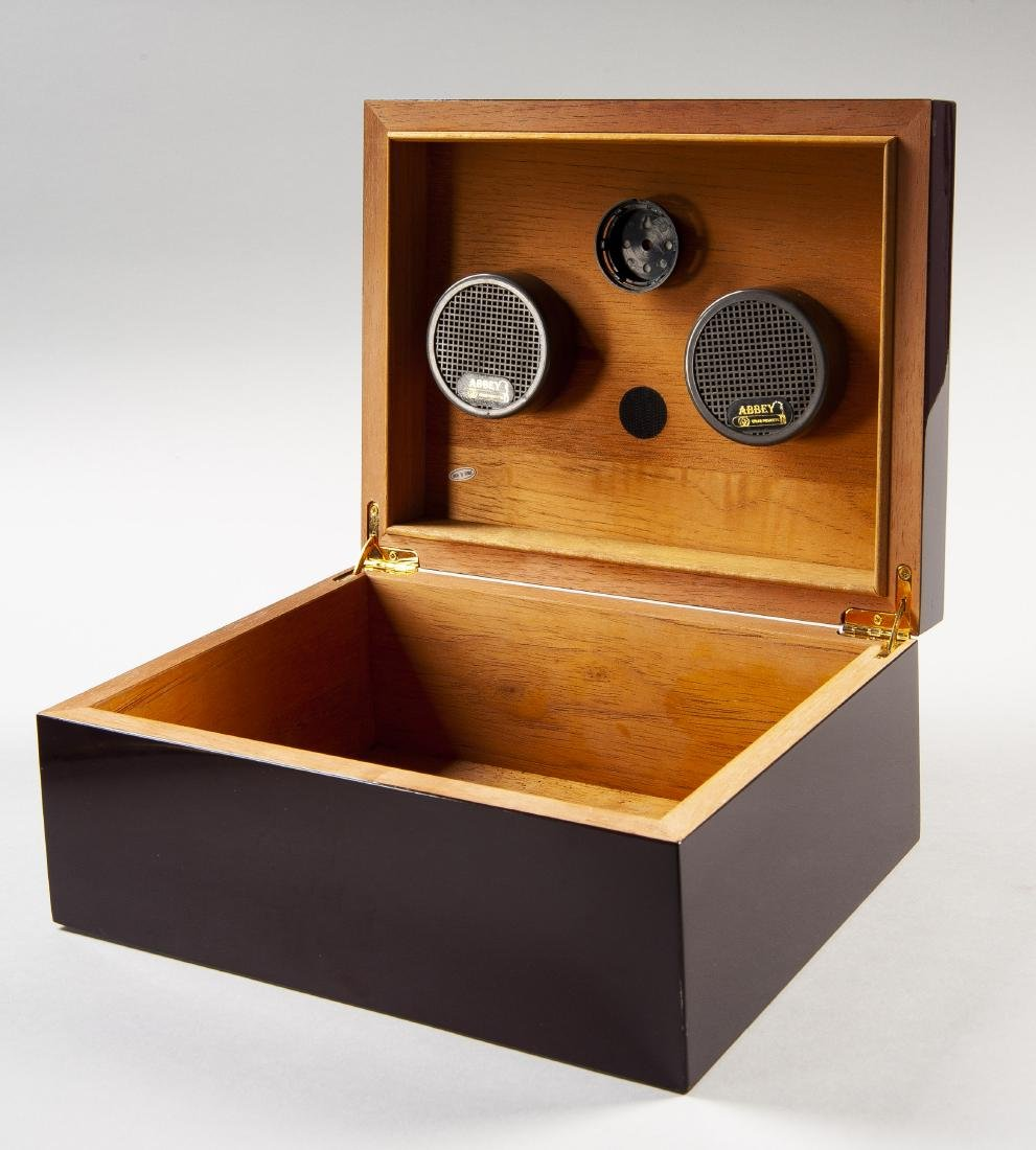 Abbey Cigar Products Wood Box Humidor - 2