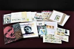 US Unused Stamps Sets + Books