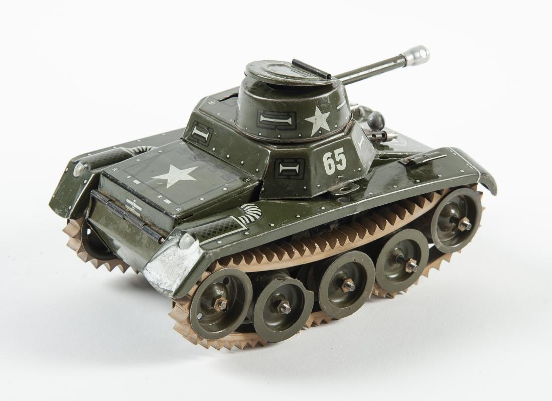 Gama 65 Montage Tank Windup Tin Toy - 2