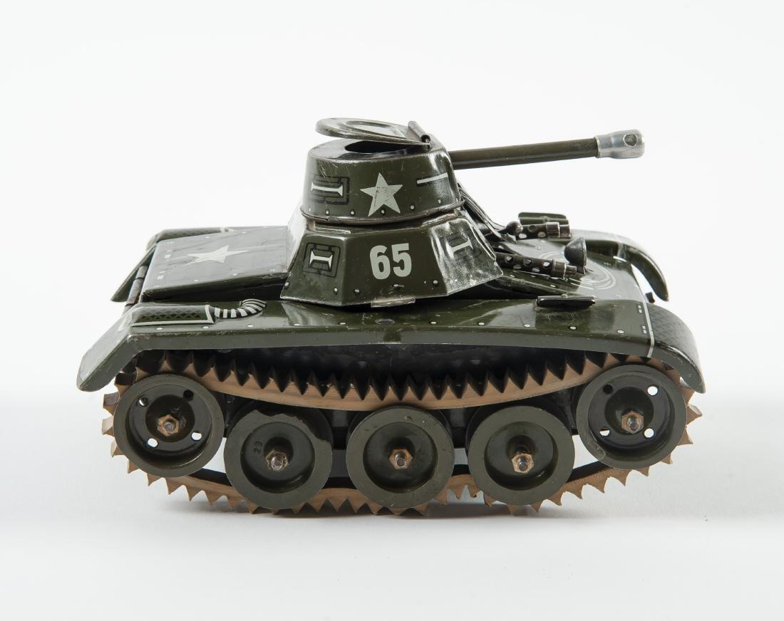 Gama 65 Montage Tank Windup Tin Toy - 3
