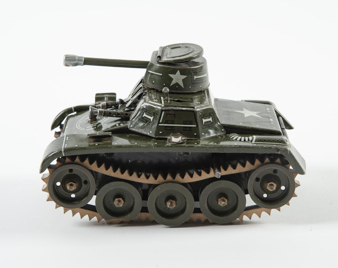 Gama 65 Montage Tank Windup Tin Toy - 4