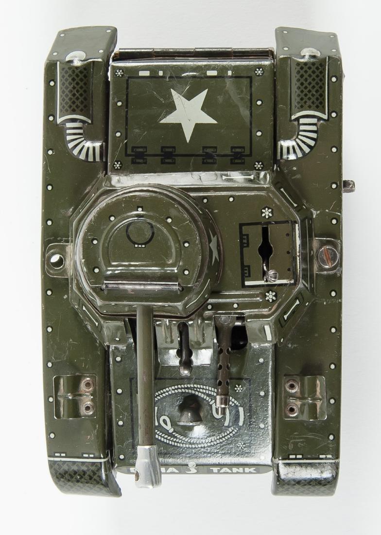 Gama 65 Montage Tank Windup Tin Toy - 6