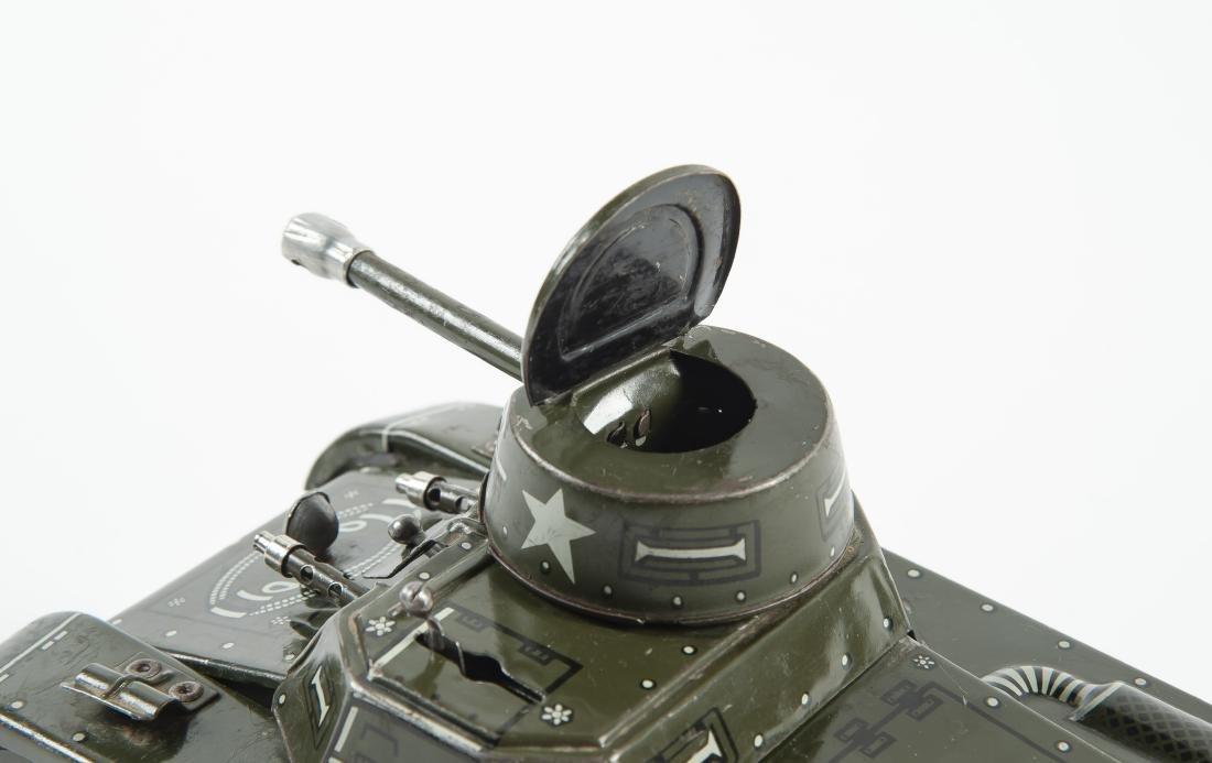 Gama 65 Montage Tank Windup Tin Toy - 7