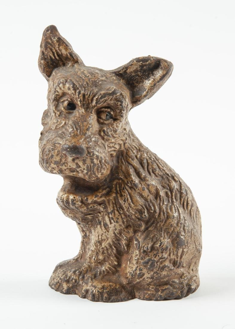 Wilton Cast Iron Scotty Dog Doorstop