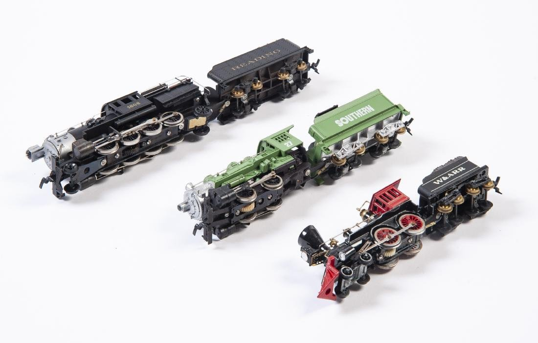 6 HO Scale Steam Locos & Tenders Incl Tyco - 3