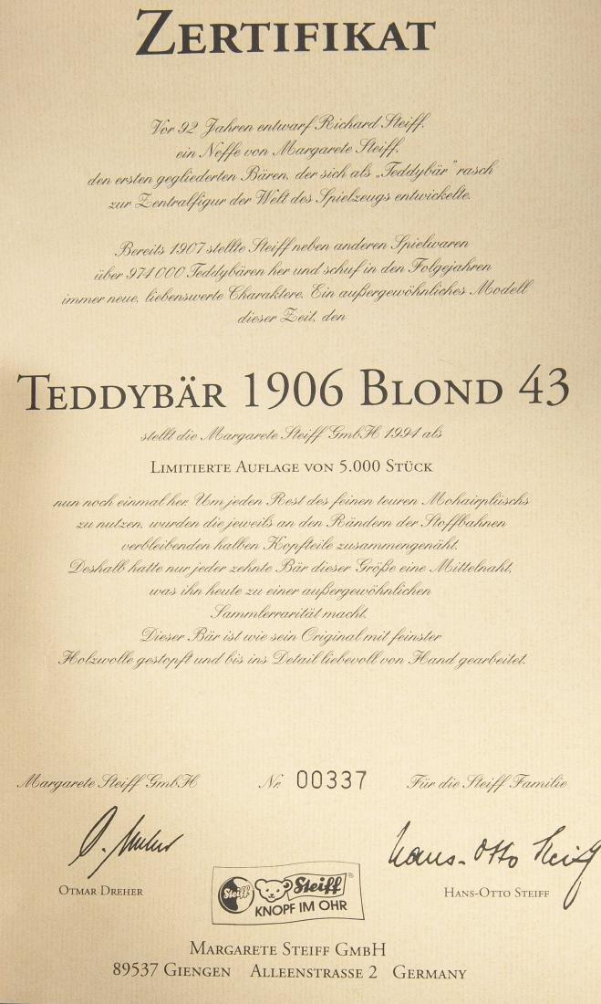 4 Limited Edition Steiff Teddy Bears - 5