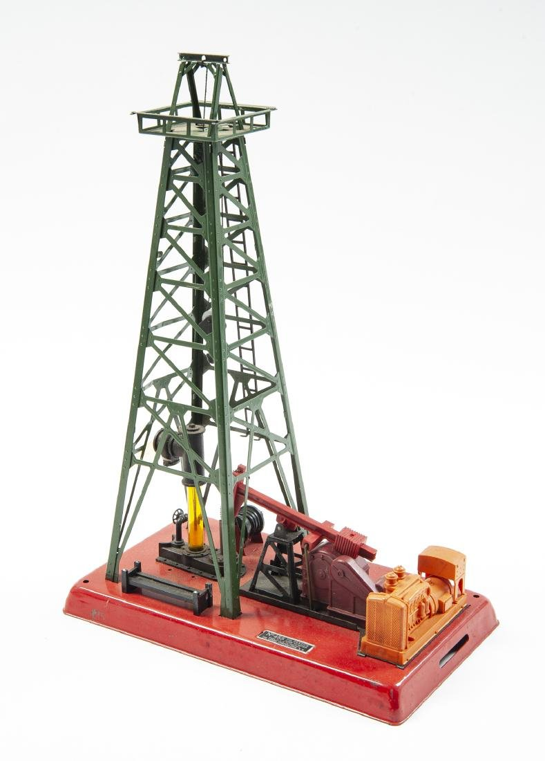 Lionel Cannonball Train Set & 455 Oil Derrick - 3