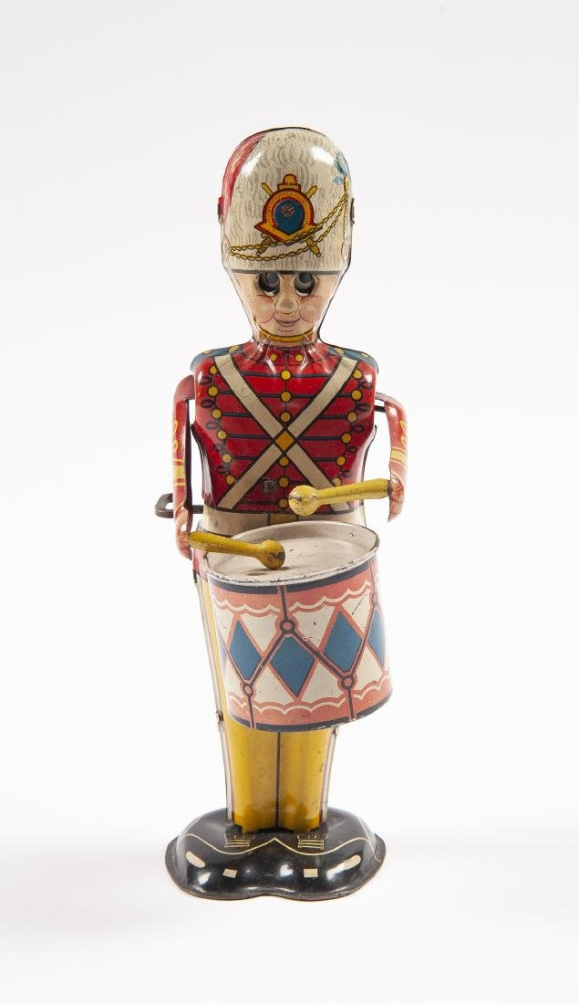 Marx Tin Wind-Up George the Drummer Boy Toy - 2