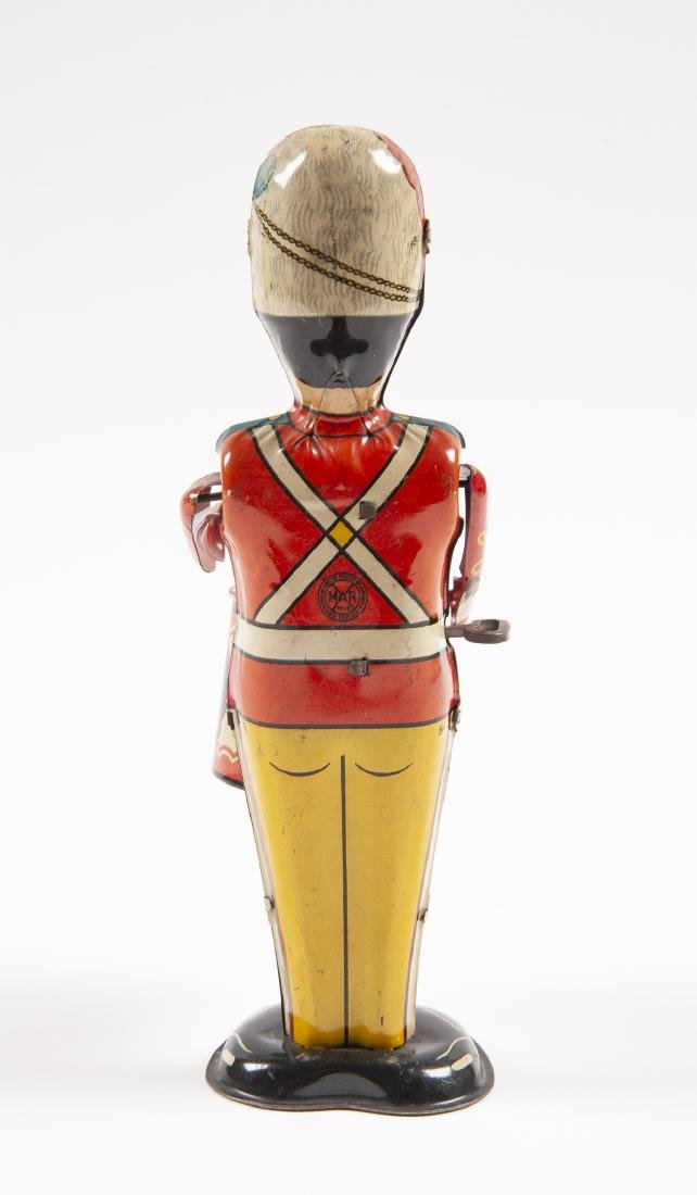 Marx Tin Wind-Up George the Drummer Boy Toy - 4