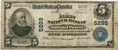 $5.00 National Bank Note