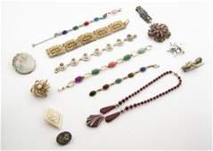 14 Pcs Vintage Costume Jewelry