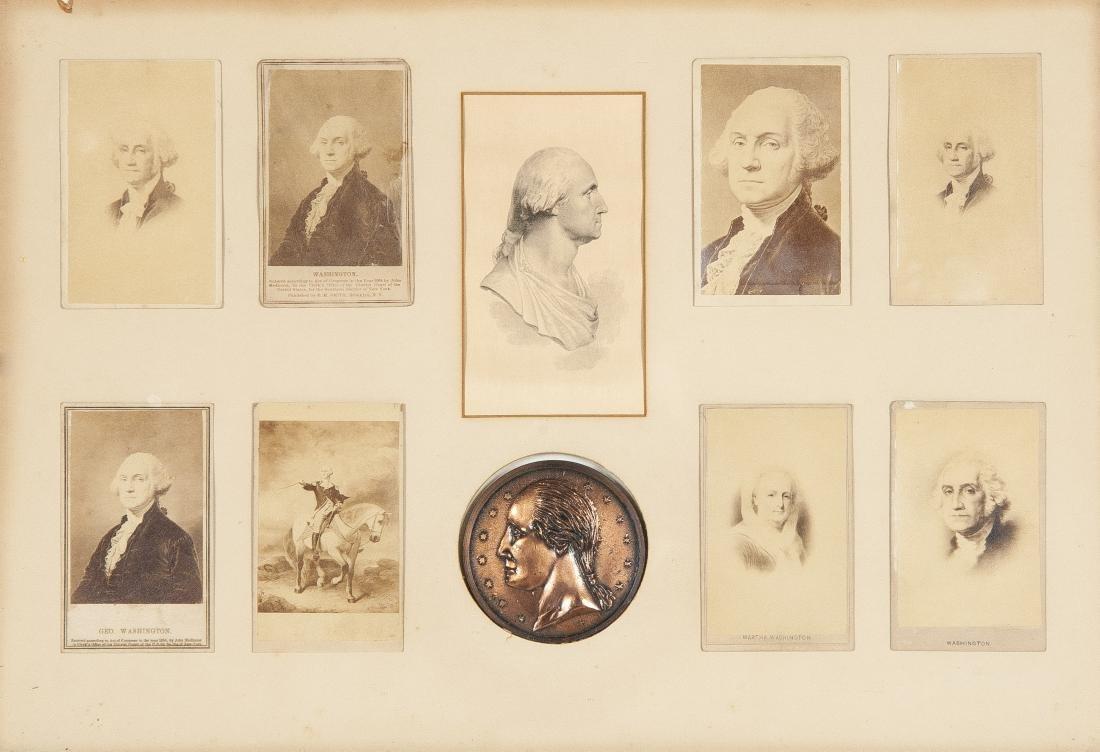Coll. of Pres. George & Martha Washington CDVs
