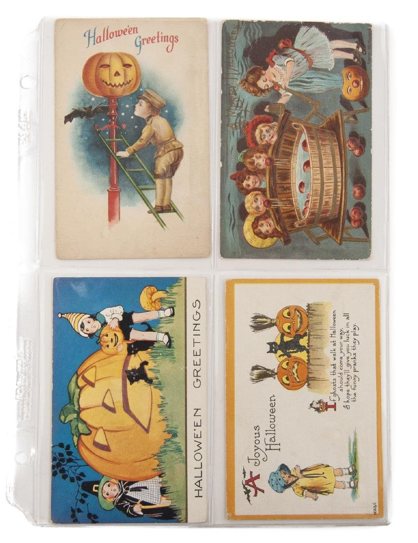 Group of 48 Postcards Incl Halloween & Clapsaddle - 3