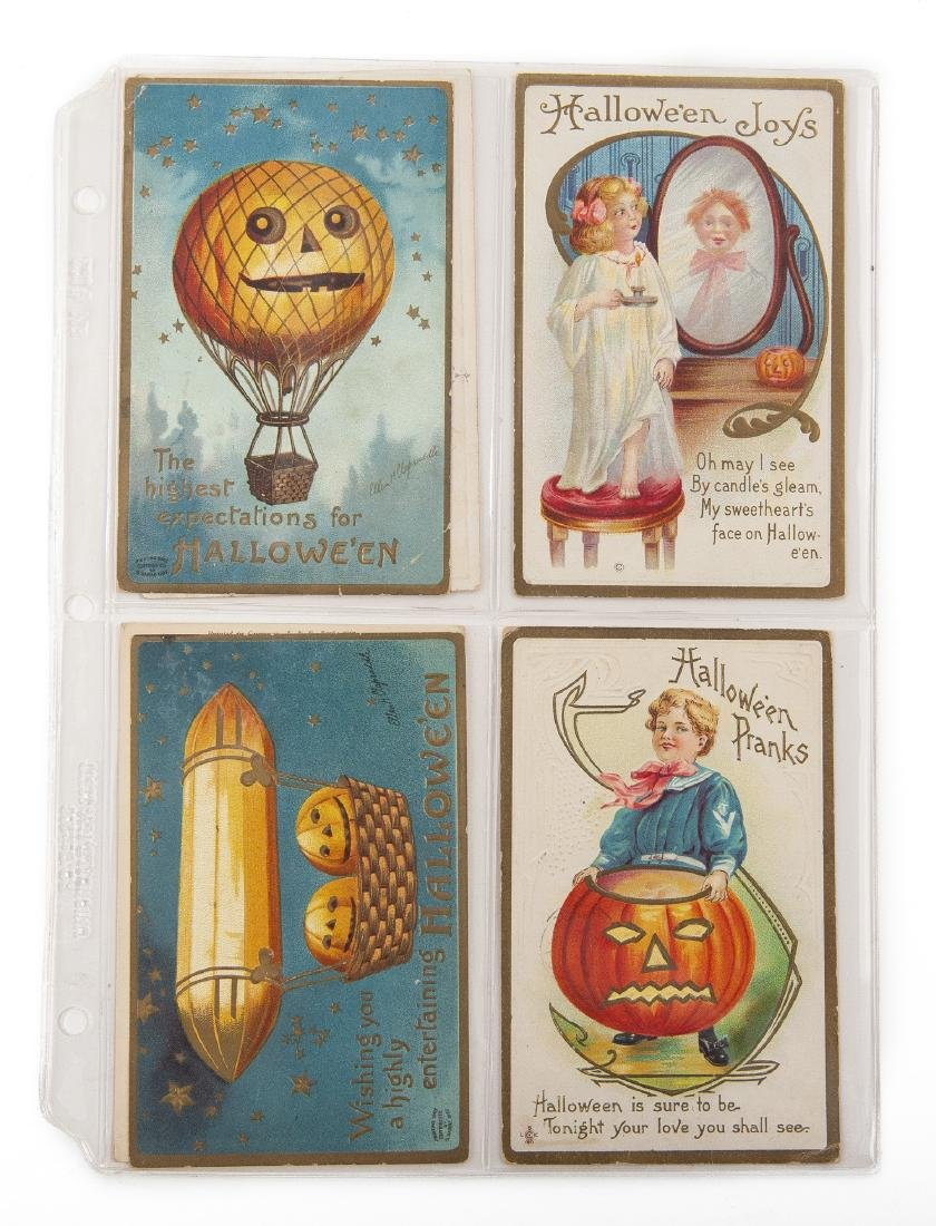 Group of 48 Postcards Incl Halloween & Clapsaddle - 4