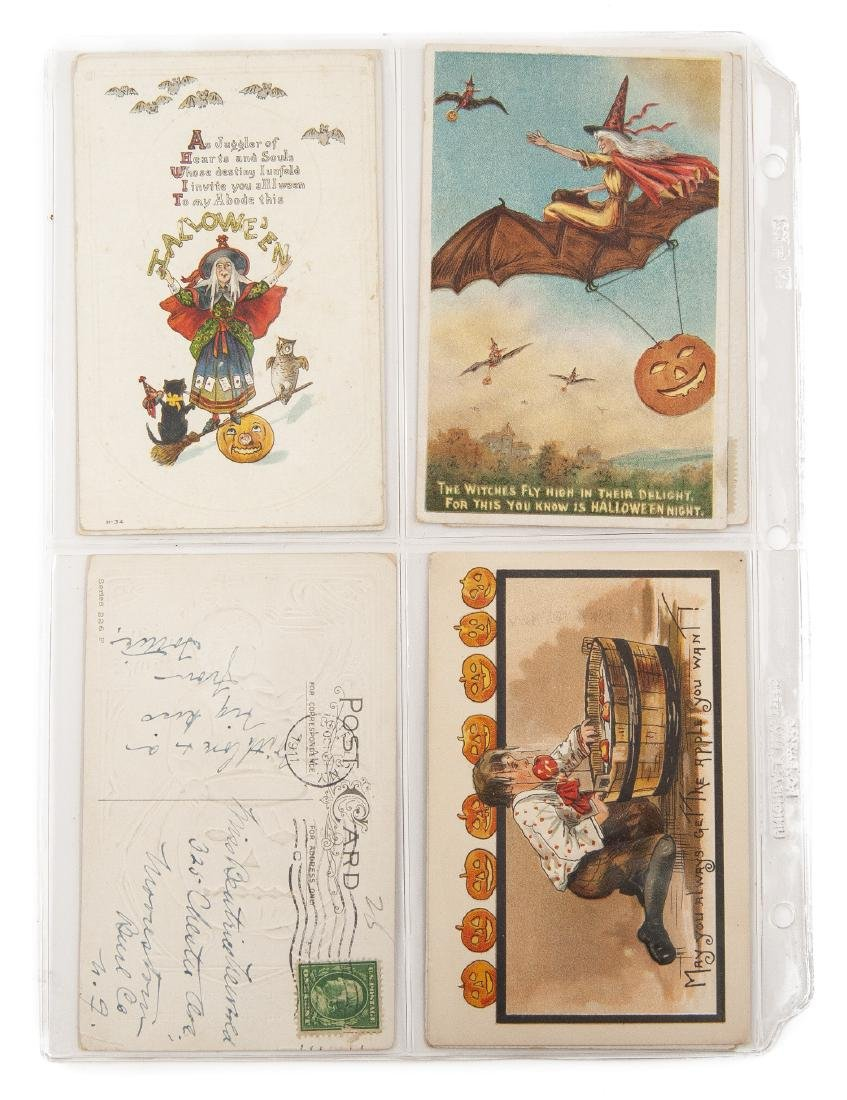 Group of 48 Postcards Incl Halloween & Clapsaddle - 8