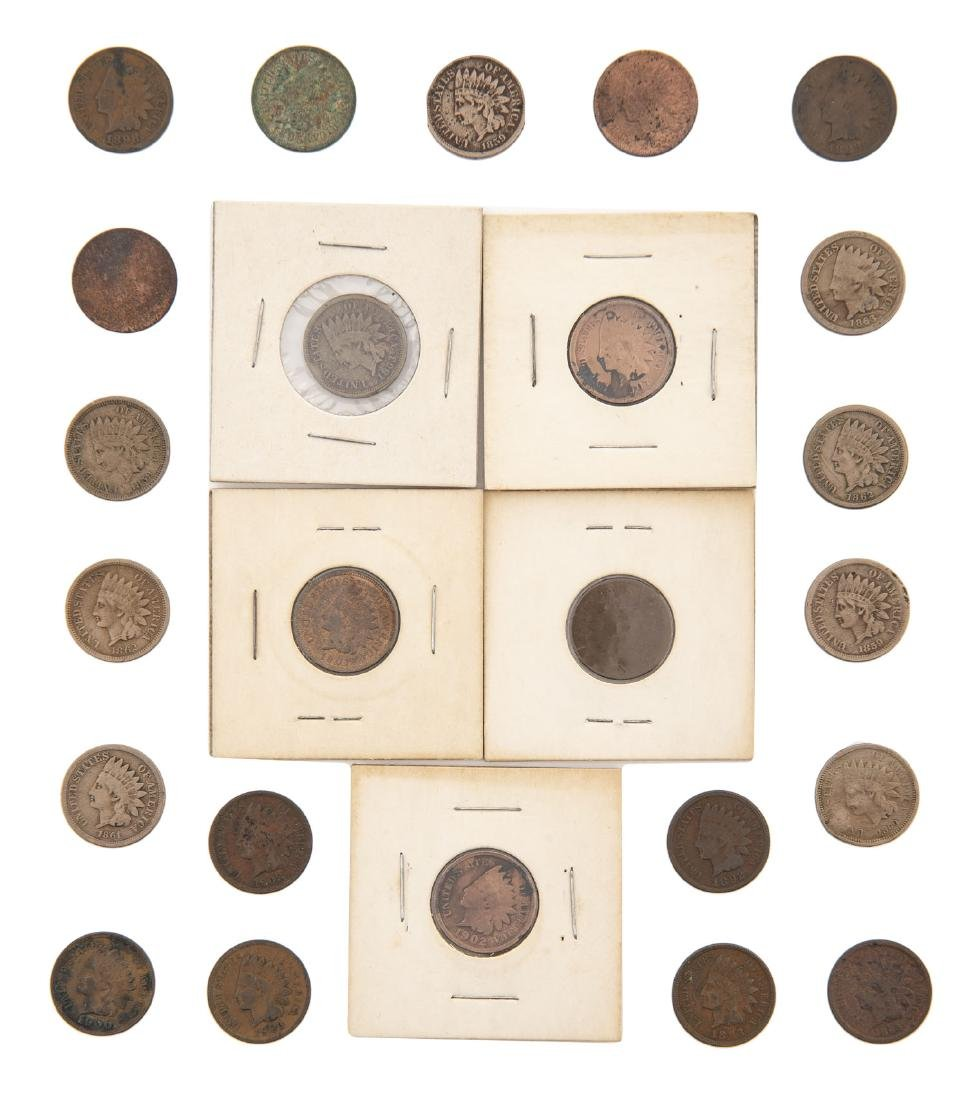 24 Indian Cents