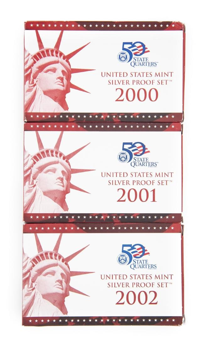 3 US Proof Sets