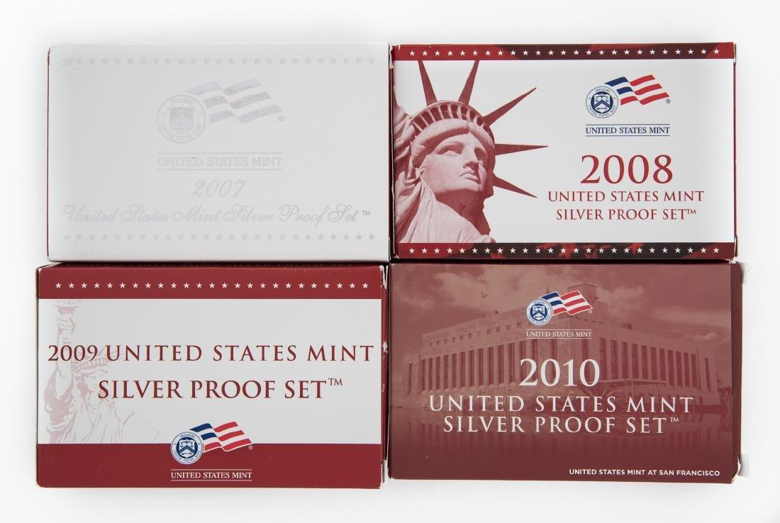 4 US Proof Sets