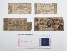 5 Pcs Incl Currency Notes