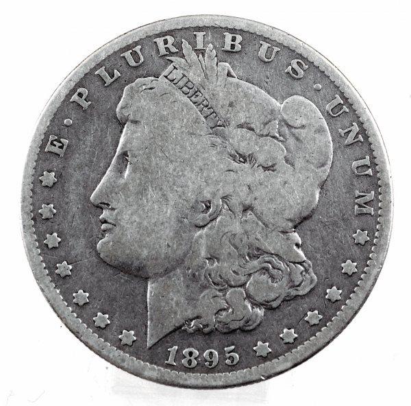 20: 1895-O Morgan Silver Dollar VG