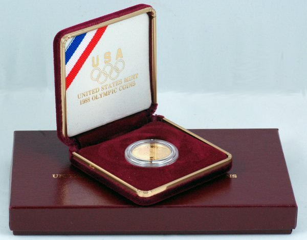 24: 1988 Olympic $5 Gold Proof