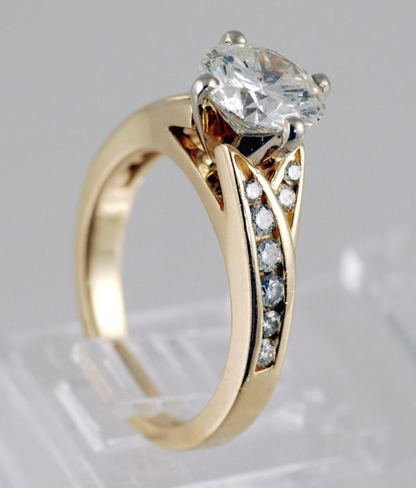 190: 1.78 Ct Diamond Ring