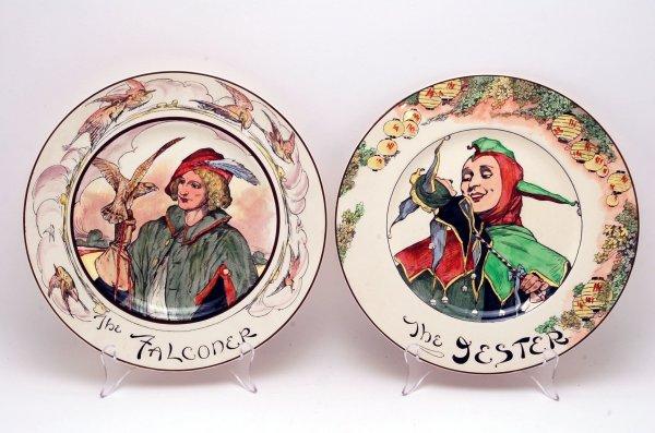 431: 2 Royal Doulton Character Plates