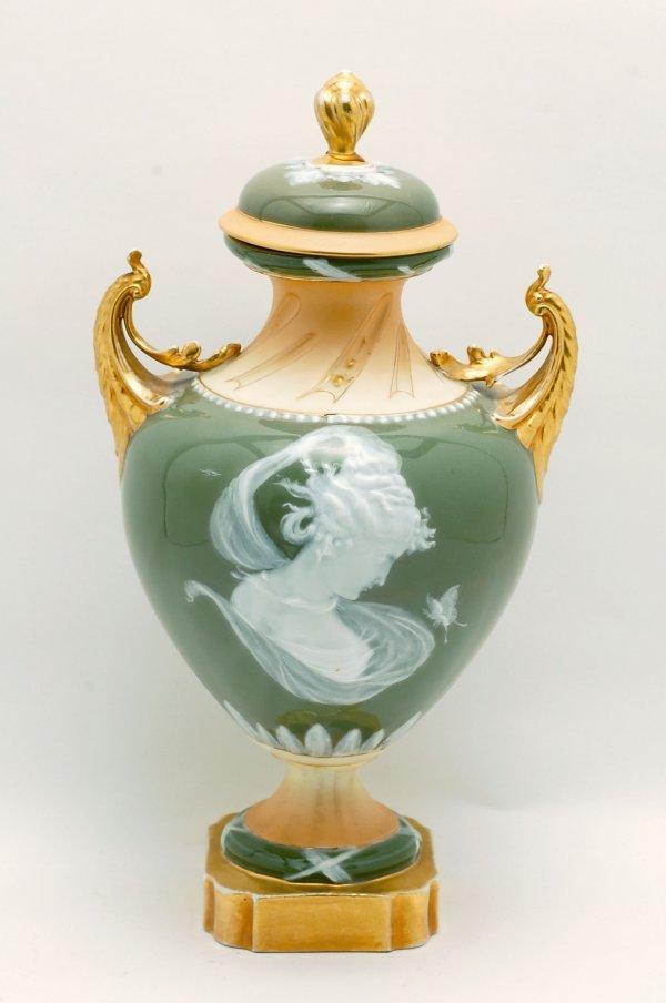 449: Large Pate Sur Pate Vase