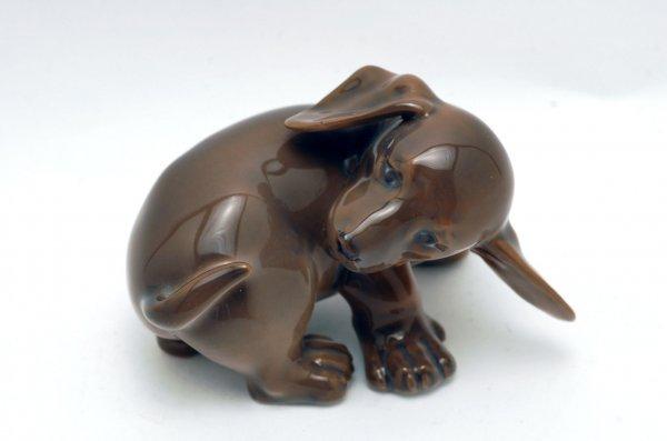 452: Royal Copenhagen Puppy Figurine