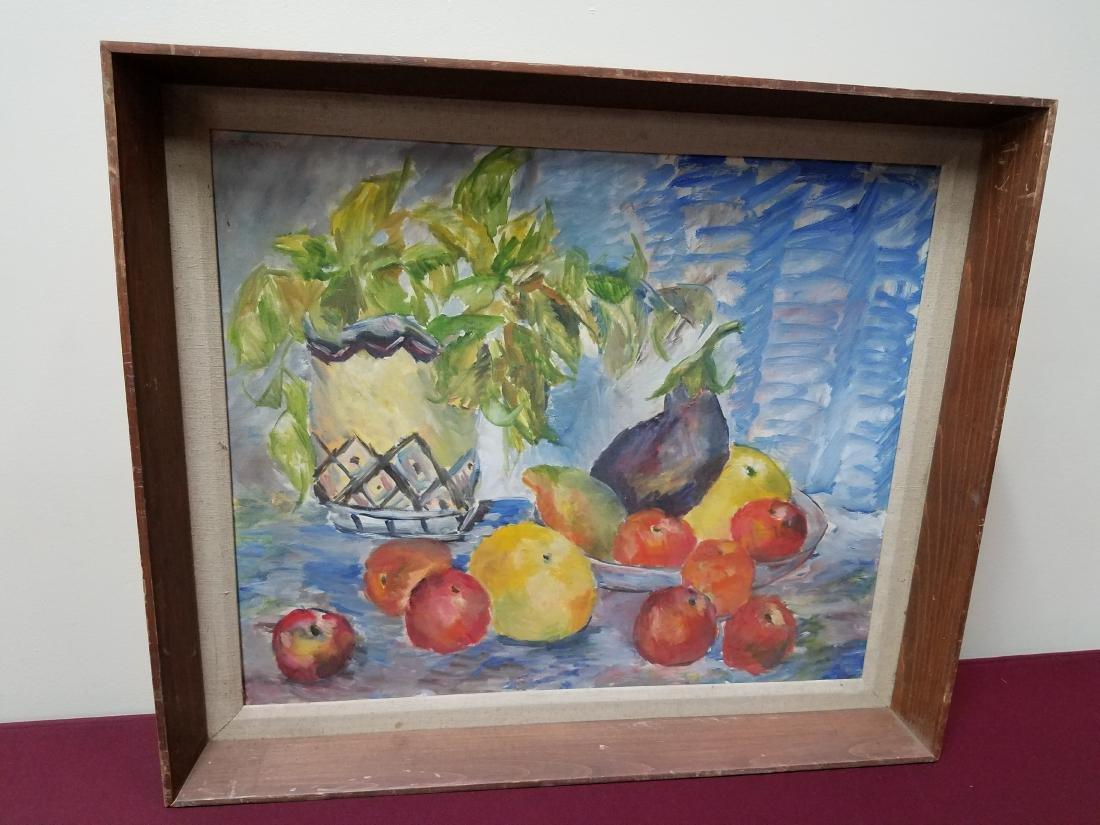 Still Life of Fruit Painting