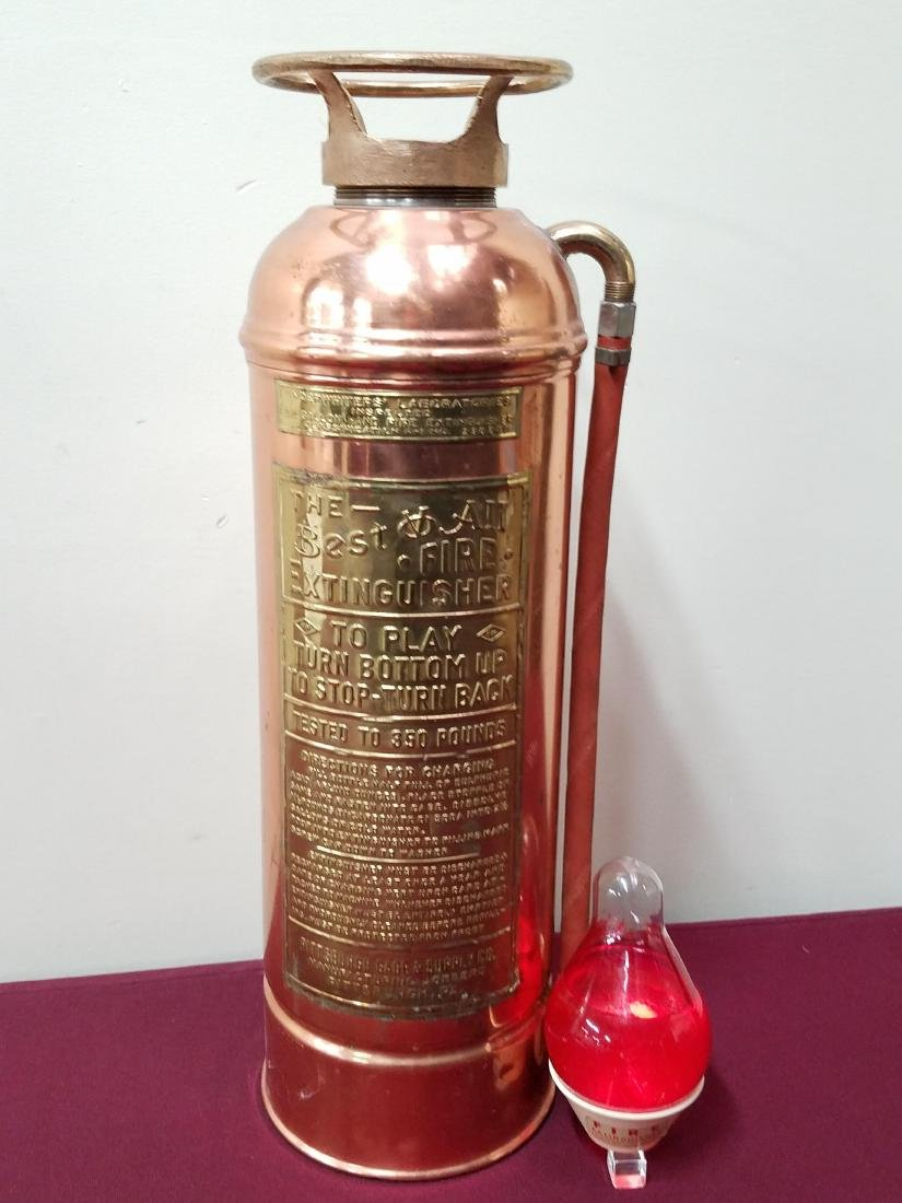 Pittsburgh Gage & Supply Co Fire Extinguisher