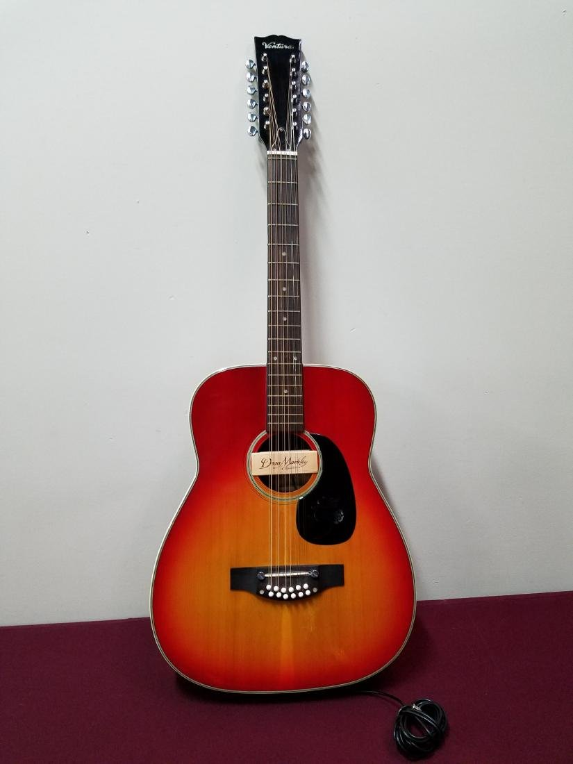 Ventura Acoustic Guitar with D. Markley Sound Pick