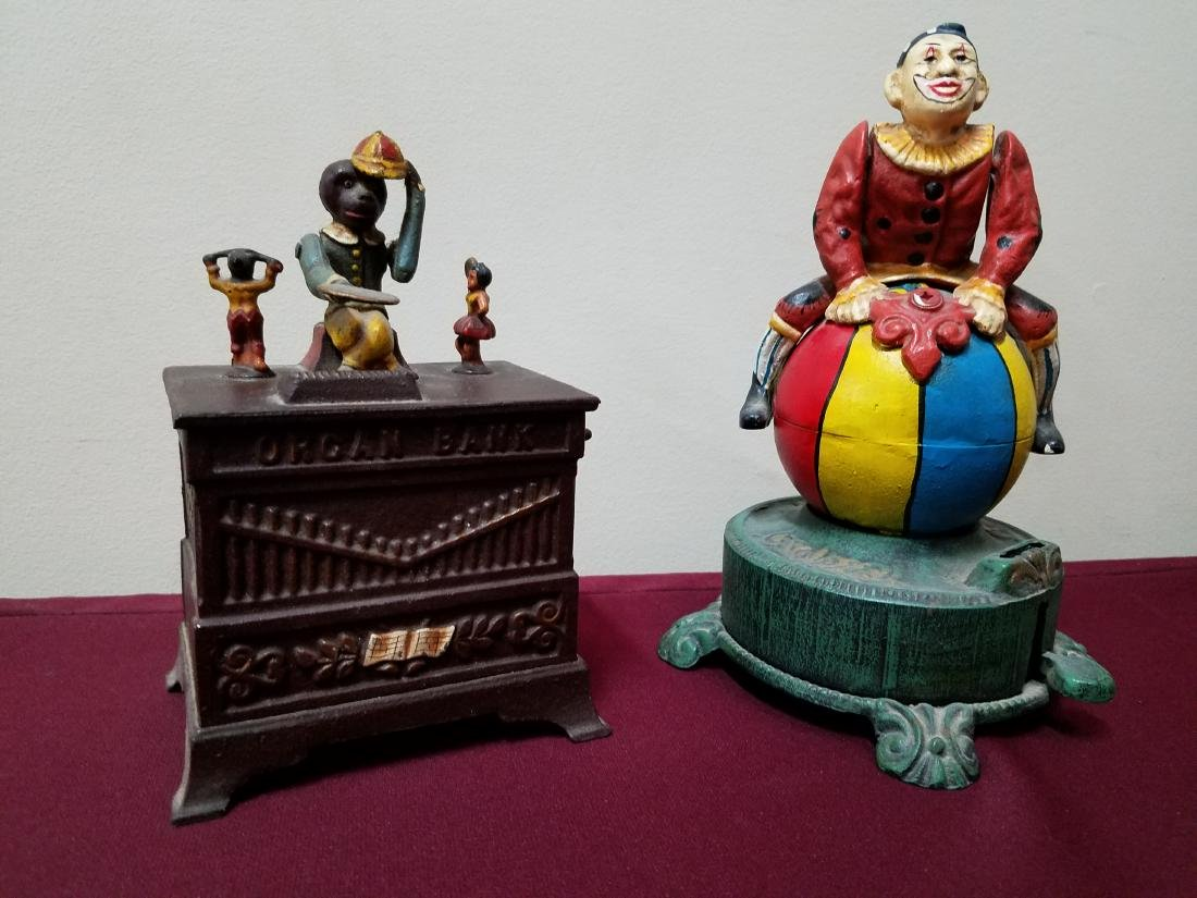2 Reproduction Coin Banks