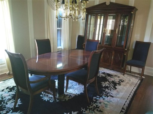 8 Pc Stanley Furniture Co Dining Suite