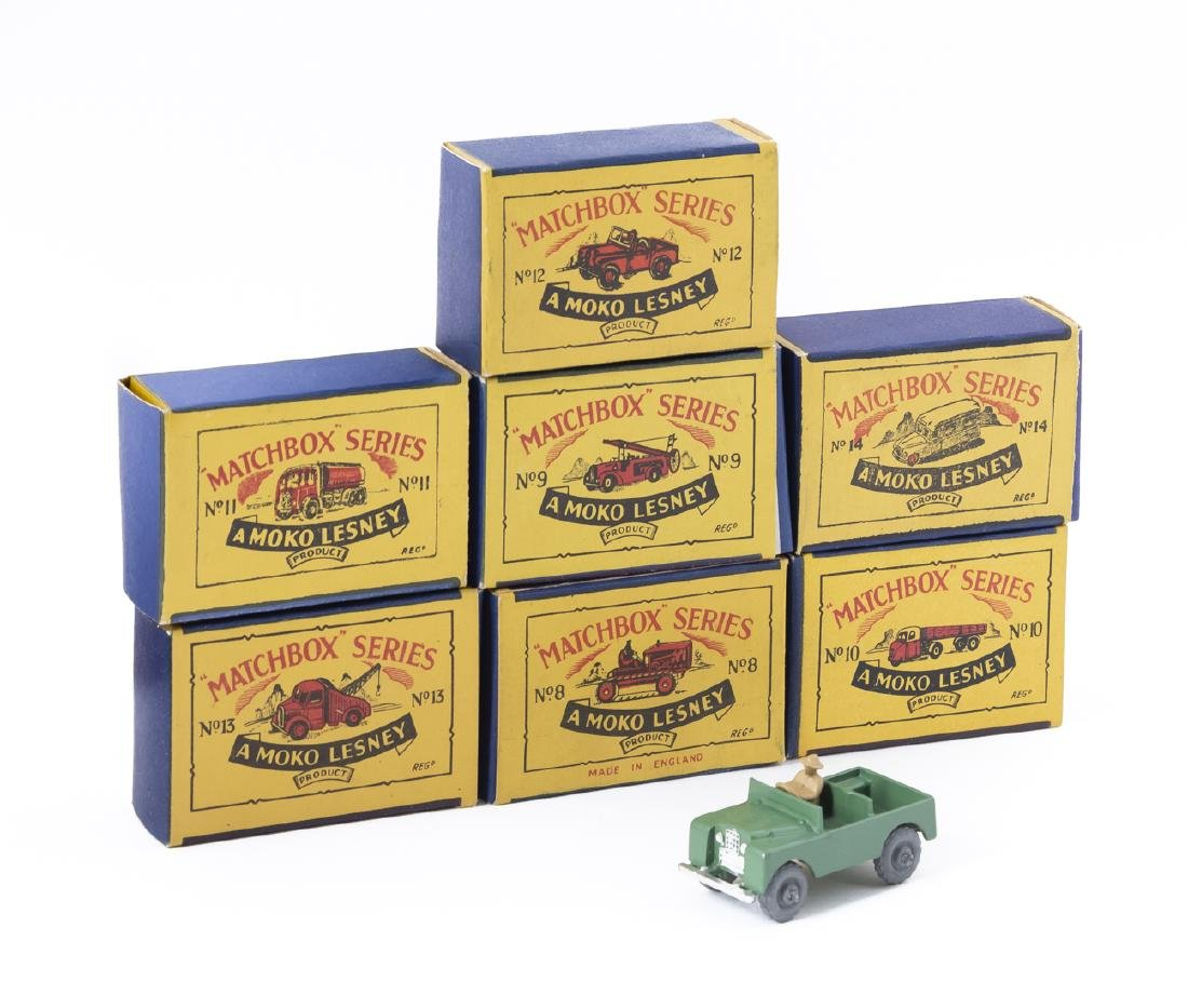 7 Matchbox Series Moko Lesney Vehicles in OBs