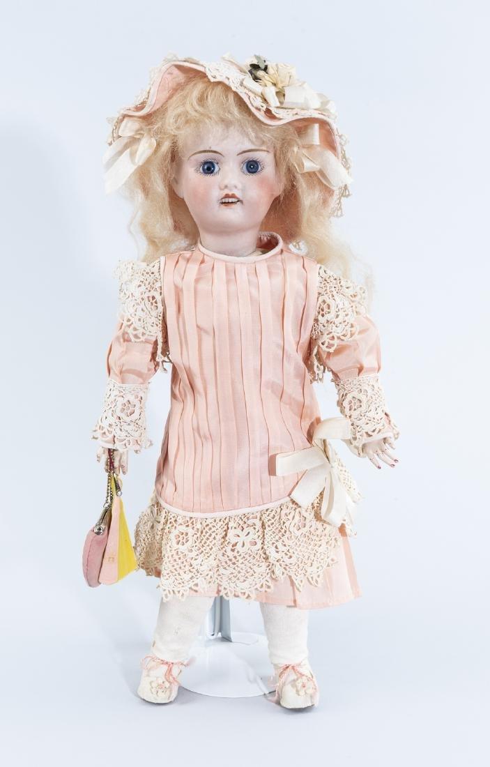 Jules Verlingue Bisque Head Doll