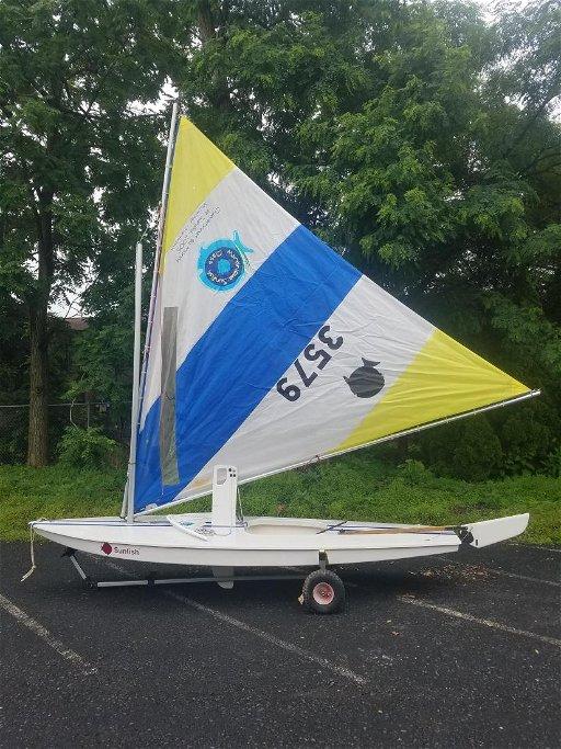 AMF Sunfish Sailboat