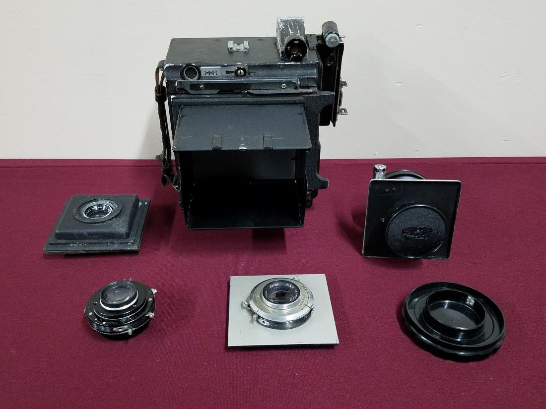 Graflex Camera and Camera Lenses