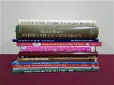 11 Vols. Medical and Dental Reference Books