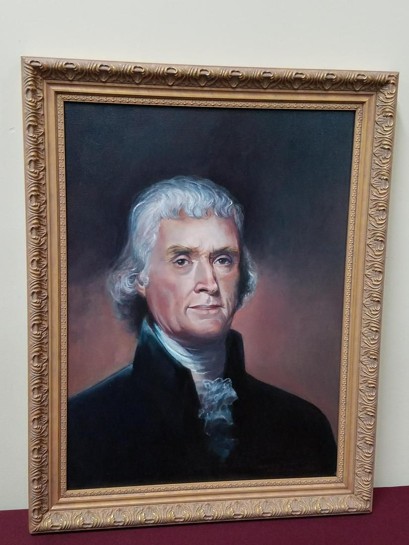Rembrandt Peal Thomas Jefferson Painting