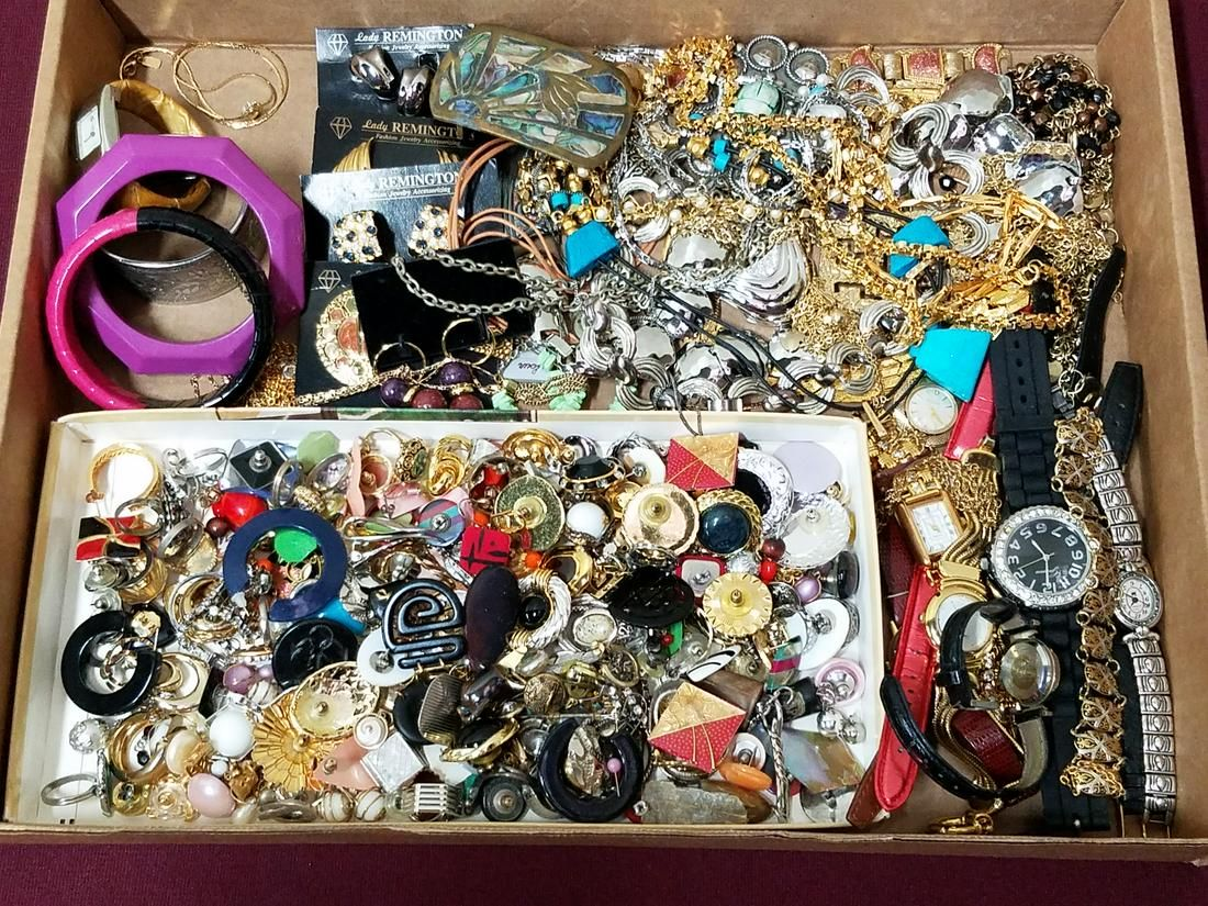 Large Lot Mixed Costume Jewelry