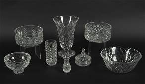 8 Pcs Assorted Waterford Comeragh Tableware