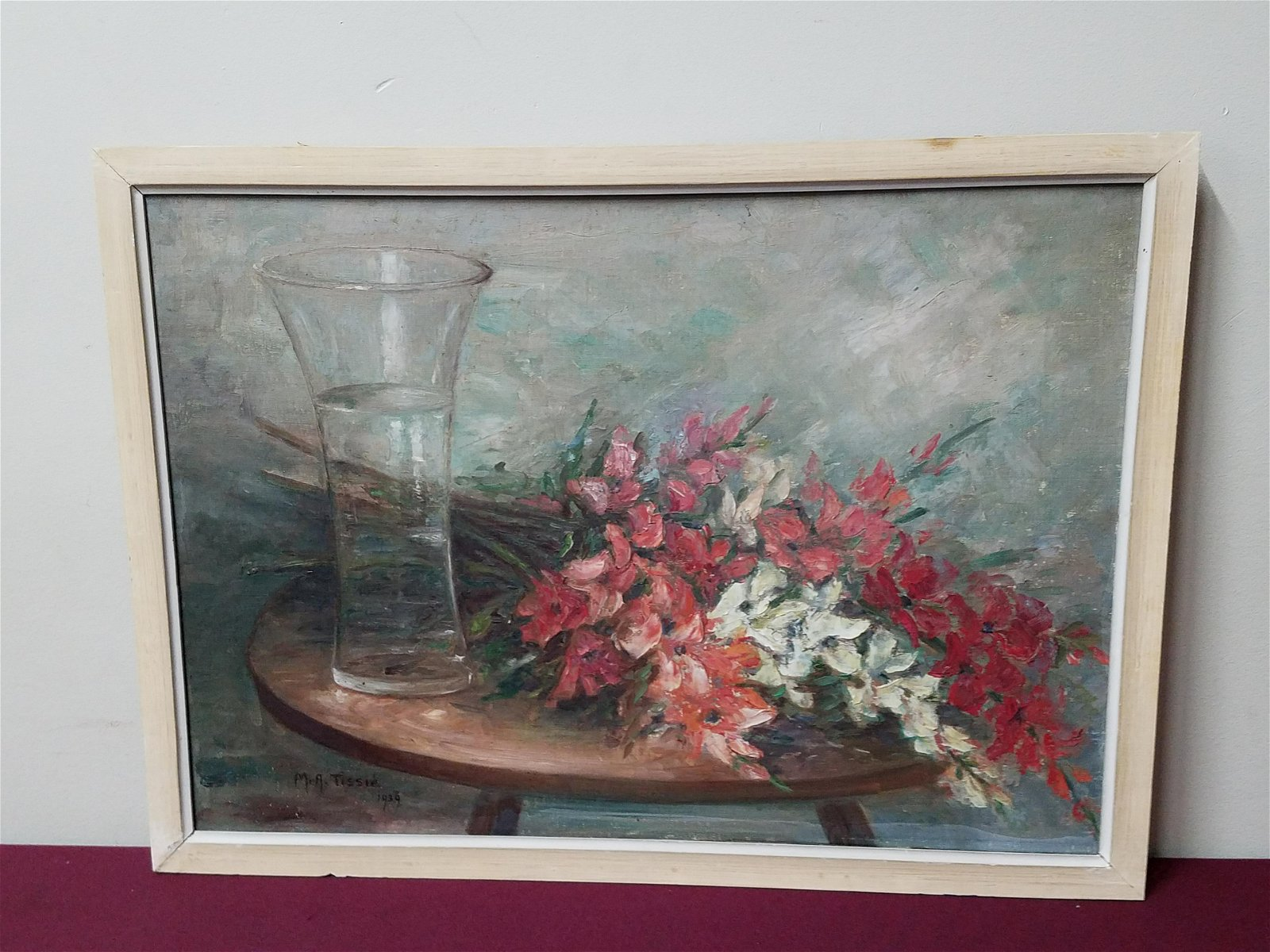 M.A. Tissie Still Life Painting
