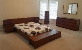 7 Pc Modern Bedroom Set