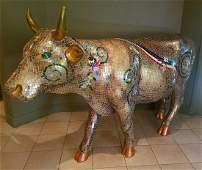 2004 Life Size Byzantine Bovine Cow Parade Cow