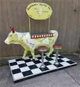 2004 Life Size MOOtiniBar Cow Parade Cow