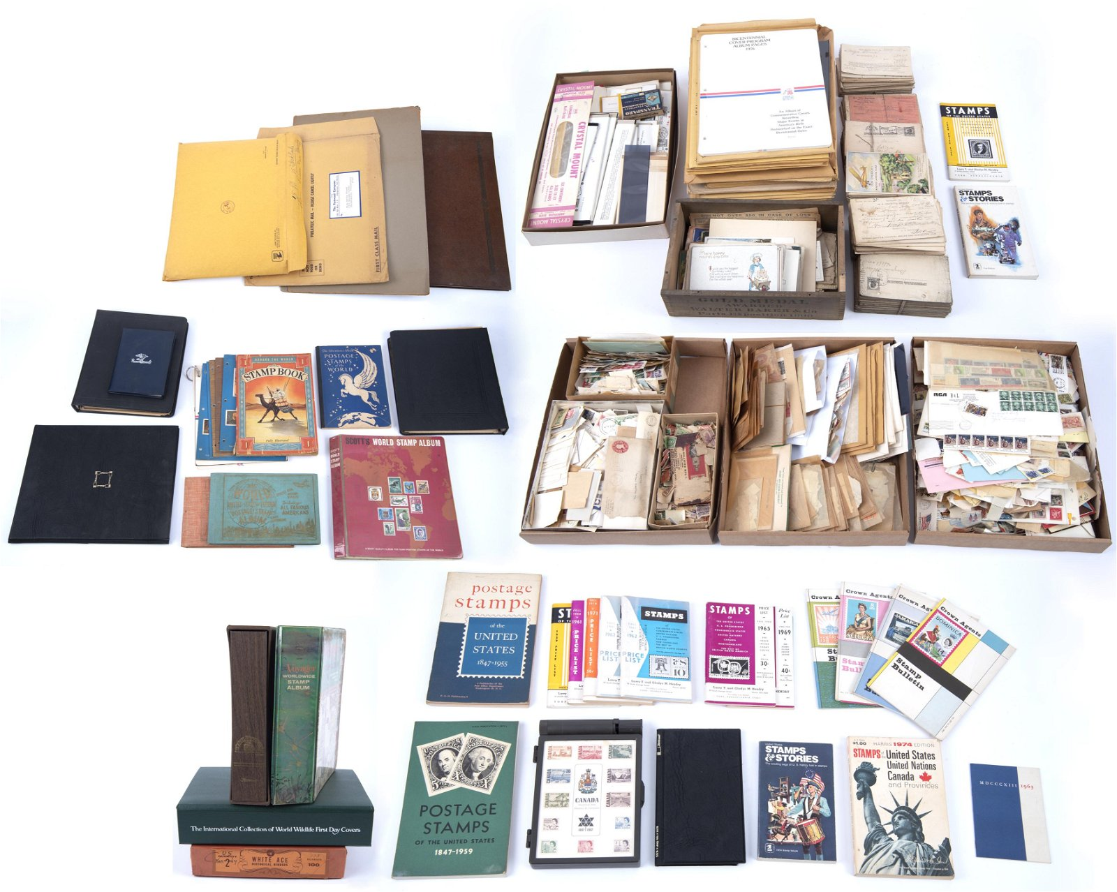 Large Collection Misc Stamps